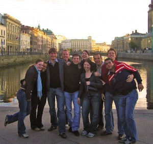 The 'gang' in Goteborg on Mallory on Travel, adventure, photography Copyright © by Camping in Heels 2011.