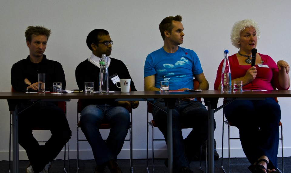 Panel discussion at TBU11 Manchester Copyright © by Mallory On Travel adventure, photography