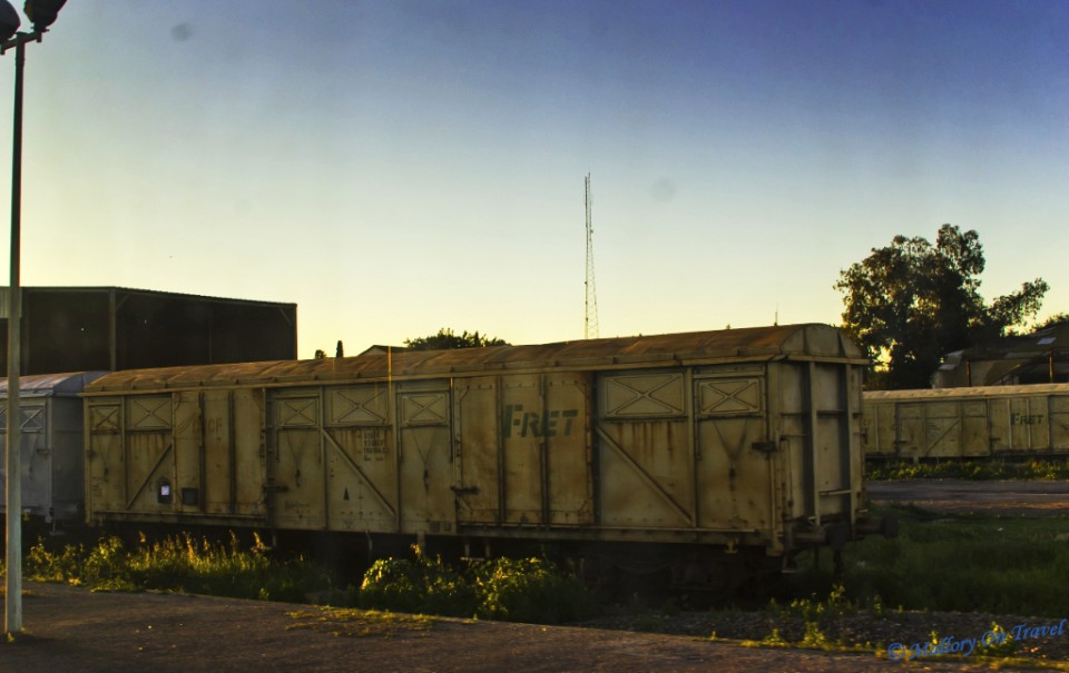 Rolling stock in Morocco on Mallory on Travel, adventure, photography