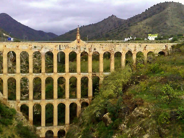 Maro viaduct near Nerja on the Costa del Sol, Spain on Mallory on Travel, adventure, photography