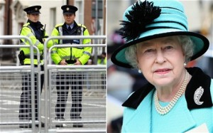Policing the British Queens visit to Ireland on Mallory on Travel, adventure, photography