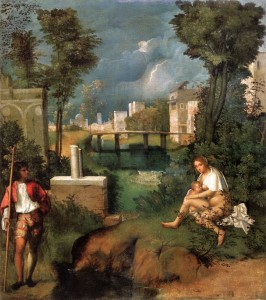 Giorgione masterpiece in Venice, Italy on Mallory on Travel, adventure, photography