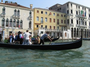 Messing about on the canal in Venice, Italy on Mallory on Travel, adventure, photography