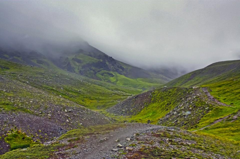 Mist on Mount Esja, Iceland on Mallory on Travel, adventure, photography