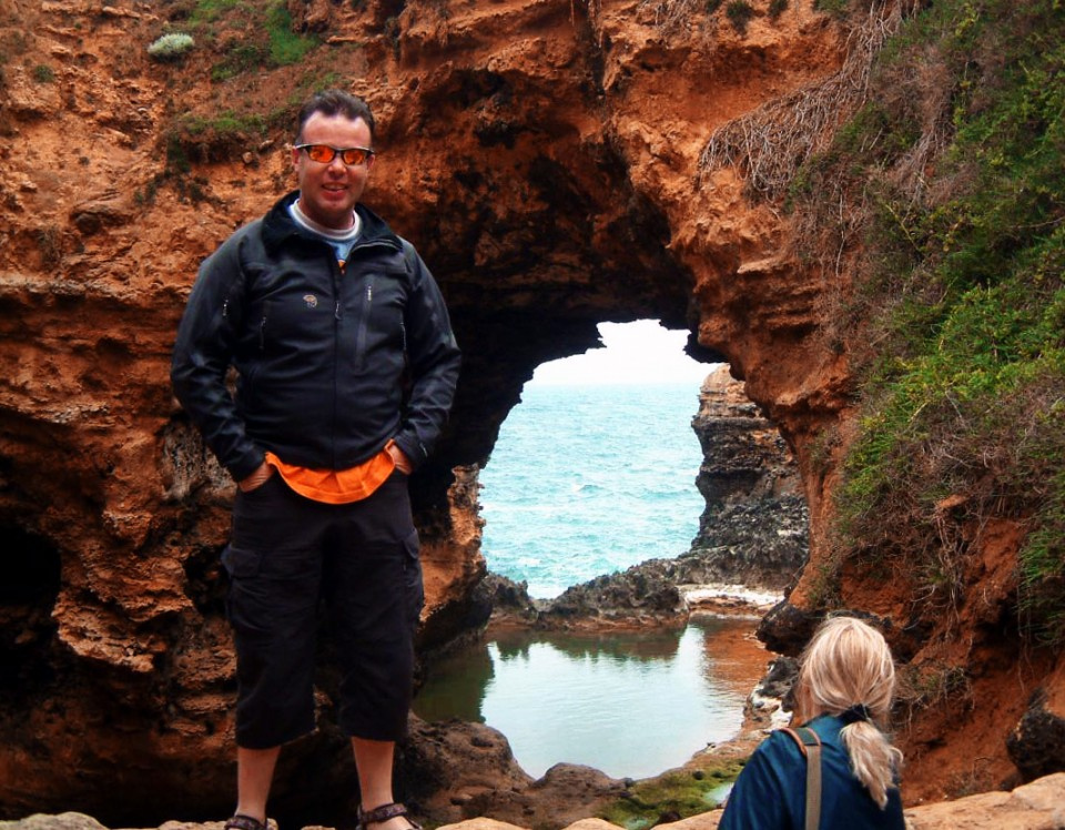 Fairy Grotto on the Great Ocean Road in Melbourne, Australia on Mallory on Travel adventure, photography