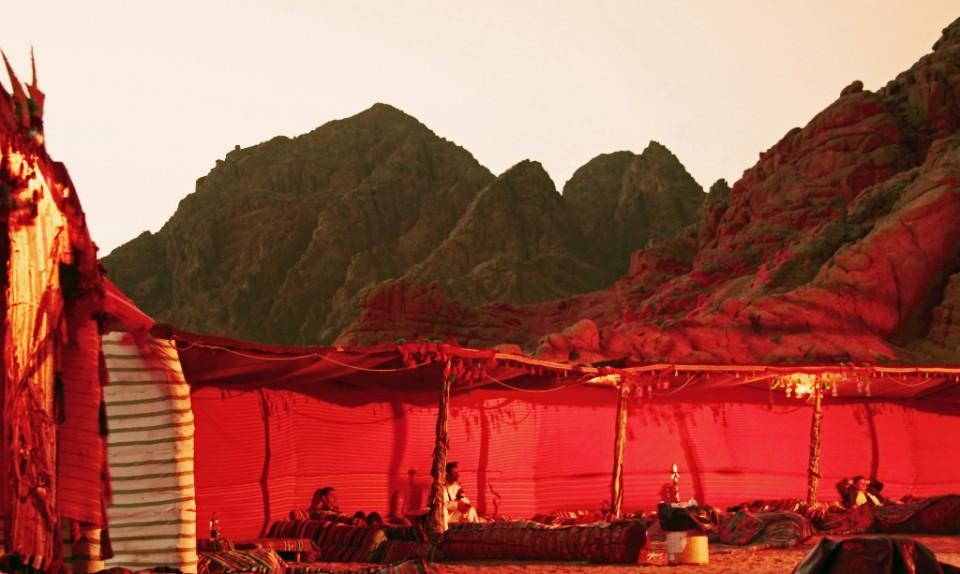 The Bedouin encampment in the desert near Sharm el Sheik, Egypt on Mallory on Travel, adventure, photography