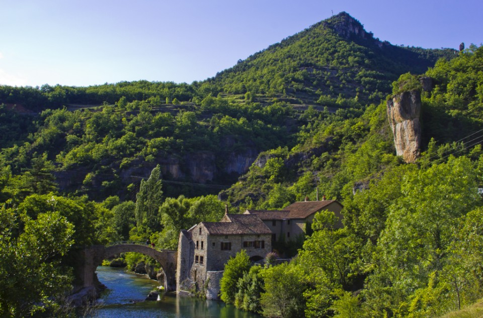 The Tarn Gorge in the French Aveyron on Mallory on Travel, adventure, adventure travel, photography