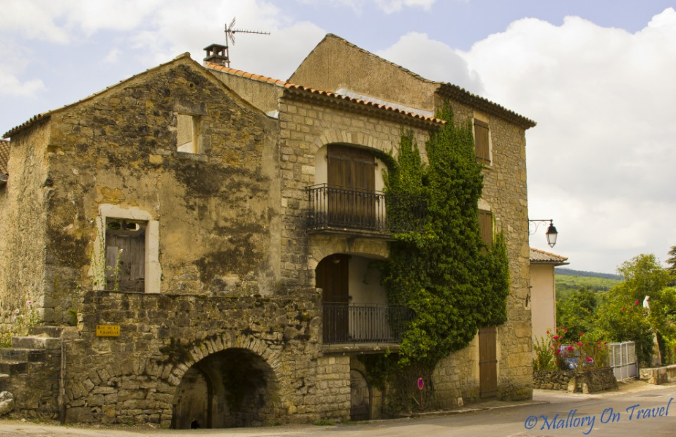 French villa in the Aveyron region of the Midi-Pyrenees on Mallory on Travel, adventure, photography