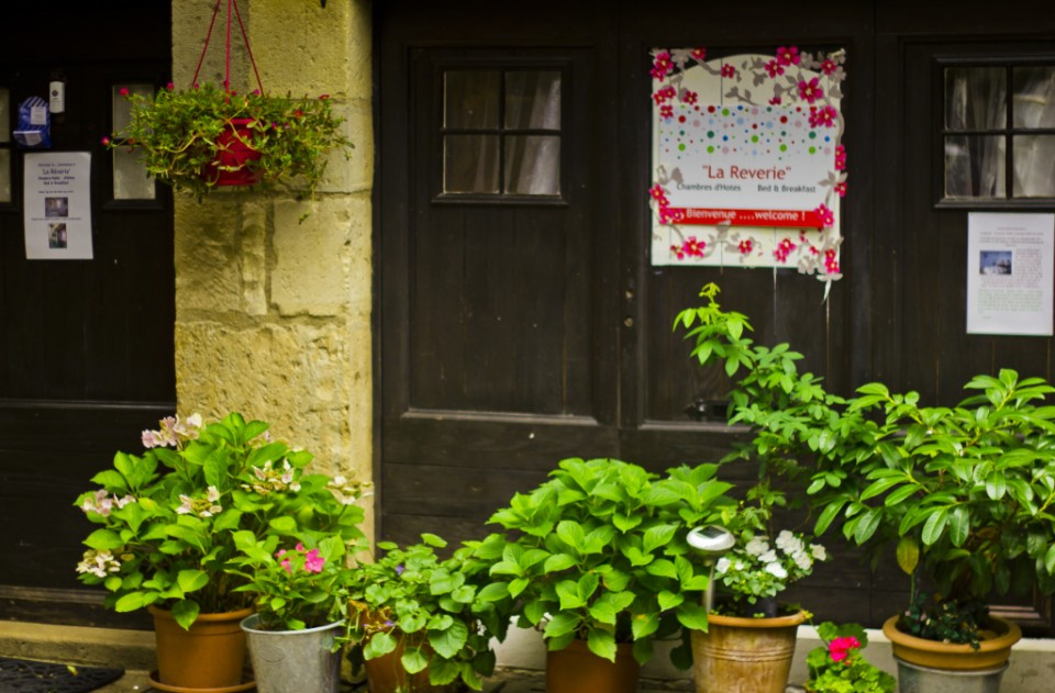 Bed & breakfast accommodation the La Reverie; Chambres d'Hôtes St Antonin Noble Val, Averyon, France on Mallory on Travel, adventure, photography