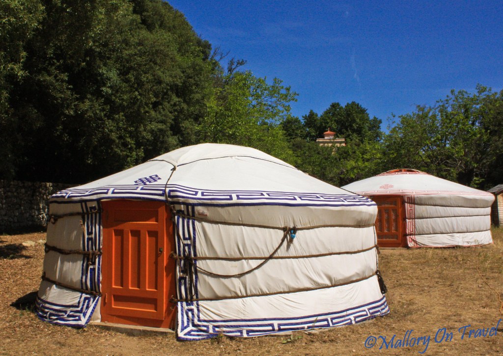 Couchsurfing in Yurts in Corte Corsica on Mallory on Travel, adventure, photography