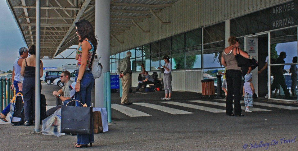 Wanderlust requires plenty of waiting at airports, Bastia, Corsica on Mallory on Travel, adventure, photography