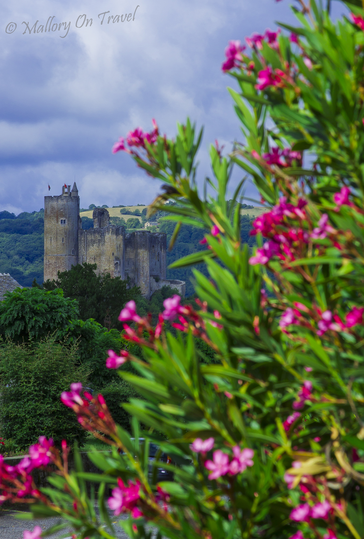 The beautiful French viallage of Najac in the Aveyron on Mallory on Travel adventure, photography
