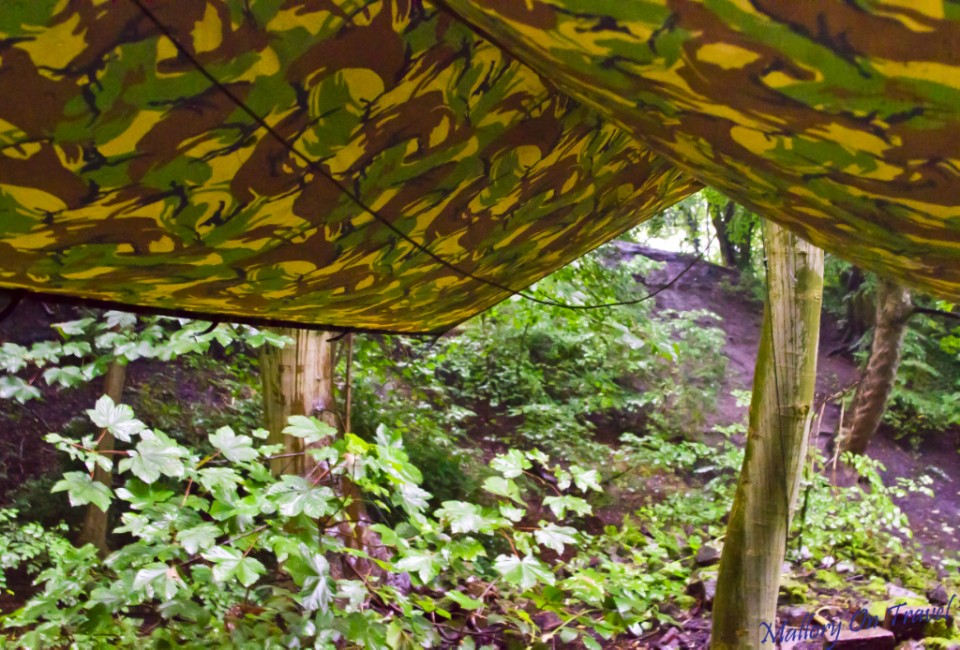 Hammock and shelter in te woods on Mallory on Travel, adventure, photography