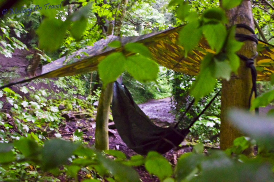 How to hang a hammock in rain or shine on Mallory on Travel, adventure, photography