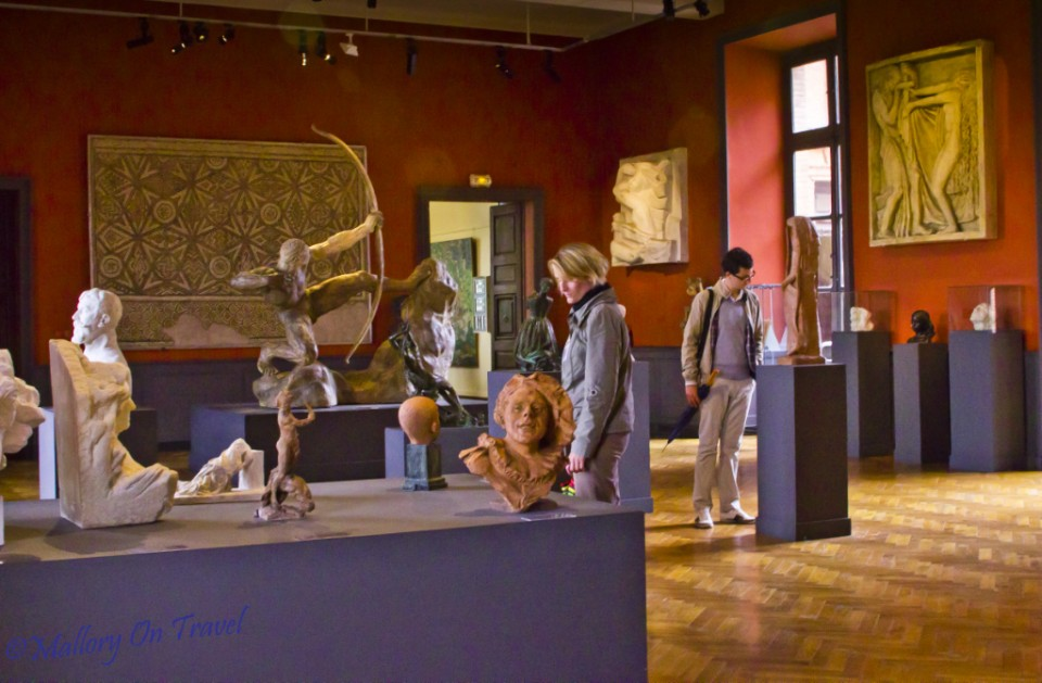 The Musee Ingres in Montauban in the French Aveyron on Mallory on Travel, adventure, photography