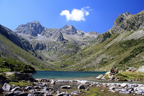 France, Lac Estom, The French Hautes- Pyrénées on Mallory on Travel, adventure, adventure travel, photography
