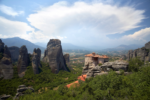 Meteora in the Thessaly Plain in Greece on Mallory on Travel, adventure, adventure travel, photography