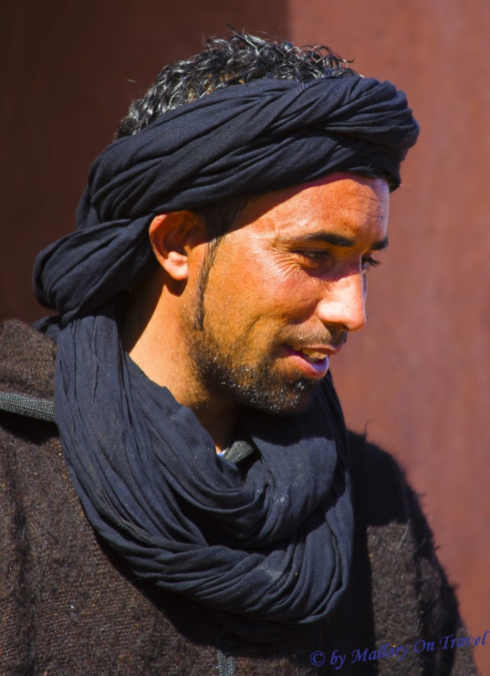 One of the Berber population in Morocco, North Africa on Mallory on Travel, adventure, adventure travel, photography