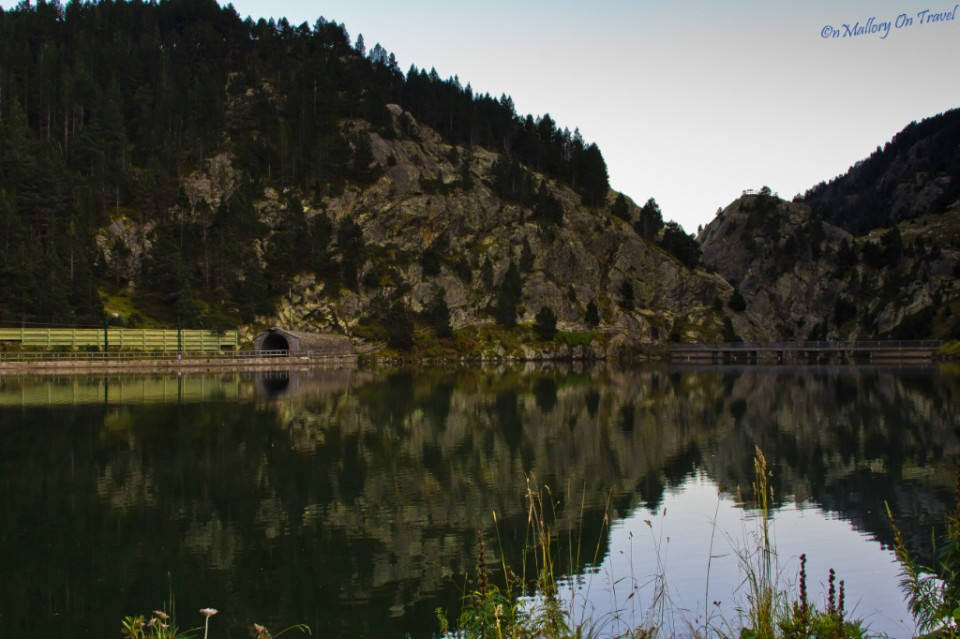 The boating lake at Hotel Vall de Nuria in Catalonia, Spain on Mallory on Travel, adventure, adventure travel, photography Iain_Mallory_034299