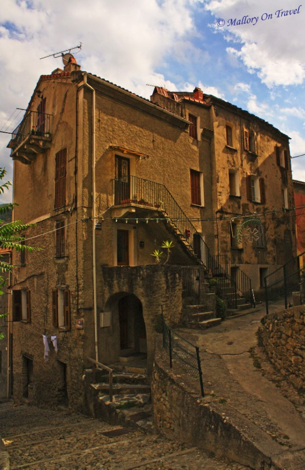 Exploring the backstreets of Corte, Corsica in France on Mallory on Travel, adventure, adventure travel, photography