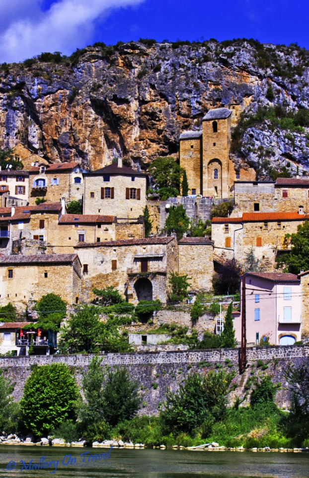 The trogolodyte village of Peyre in the Aveyron region of France on Mallory on Travel, adventure, adventure travel, photography