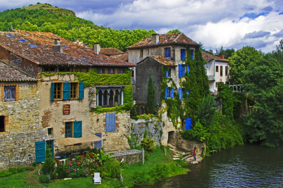 A lovely home in Saint Antonin Noble Val in the French region of the Aveyron on Mallory on Travel, adventure, adventure travel, photography