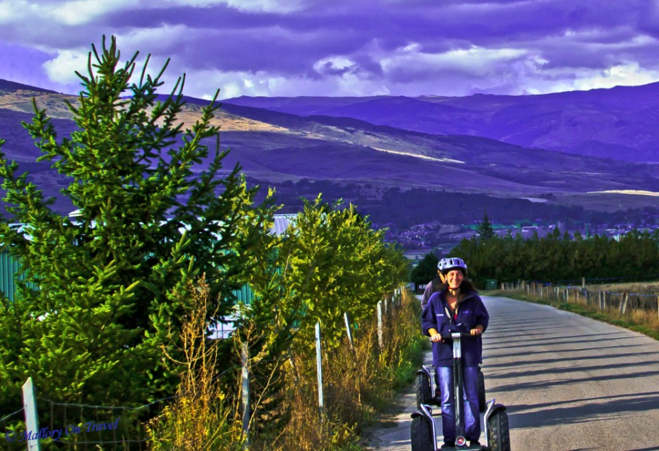 Sustainable travel; Segway in the Spanish Pyrenees on Mallory on Travel, adventure, adventure travel, photography