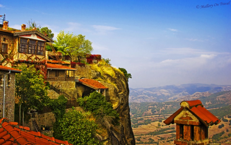 Great views from Grand Meteoron in Meteora, Thessalonian Greece on Mallory on Travel, adventure, adventure travel, photography