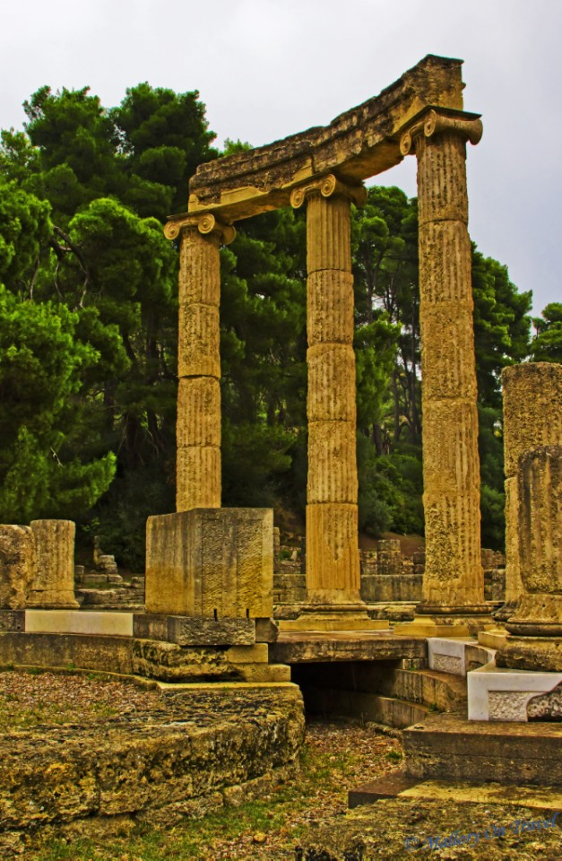 Ruins at Olympia, Greece on Mallory on Travel, adventure, adventure travel, photography