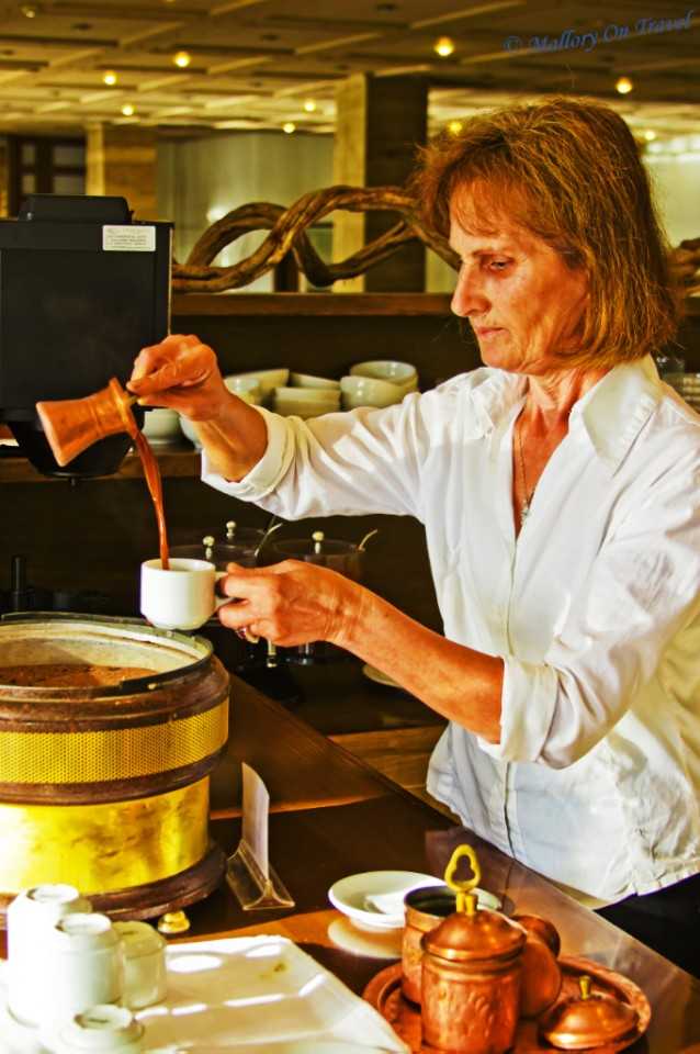 Traditional coffee making in Olympia, Greece on Mallory on Travel, adventure, adventure travel, photography
