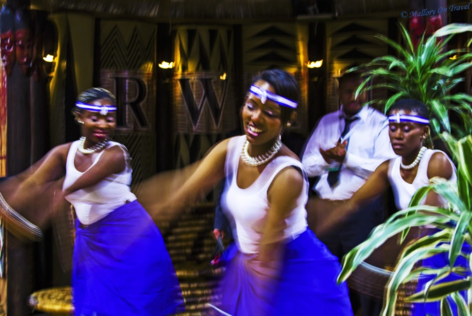 Dancers from Rwanda at the World Travel Market in London, at the Excel Centre on Mallory on Travel, adventure, adventure travel, photography Iain_Mallory_056666