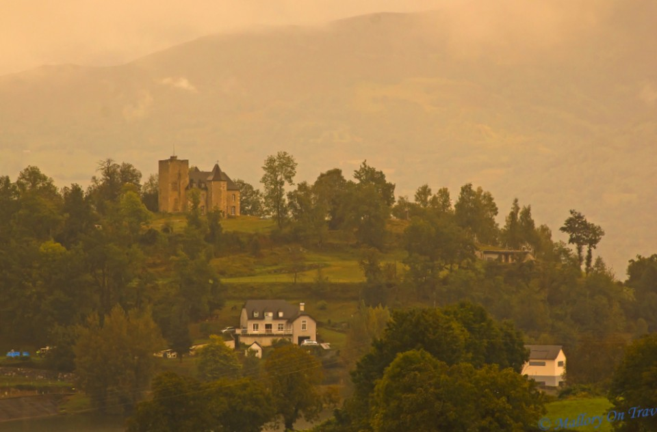 A French chateaux in the Haute-Pyrenees on Mallory on Travel, adventure, adventure travel, photography