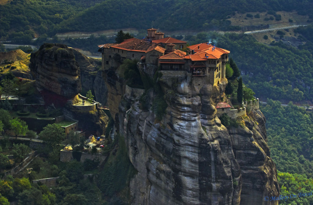 Magnificent Meteora in the plain of Thessaly in Greece on Mallory on Travel, adventure, adventure travel, photography