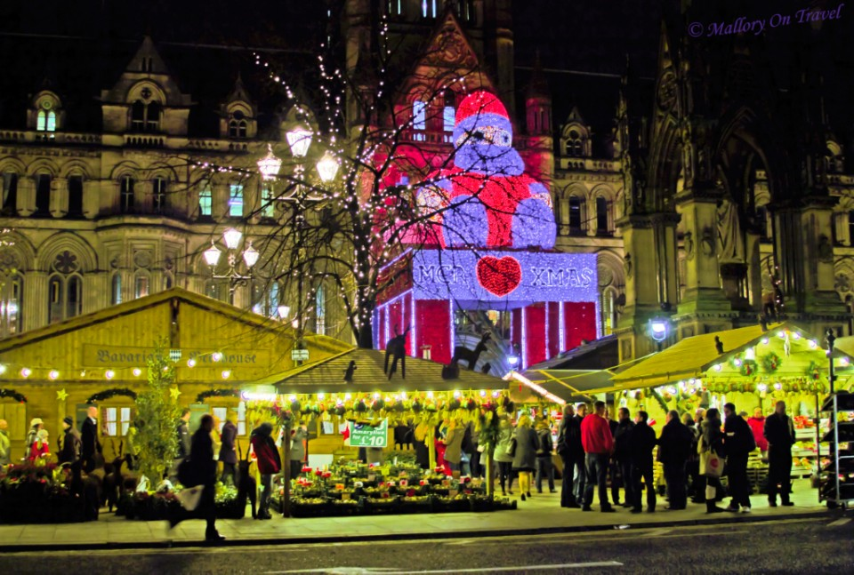 Albert Square Christmas Market in Manchester, Lancashire in the United Kingdom on Mallory on Travel, adventure, adventure travel, photography Iain_Mallory_05739
