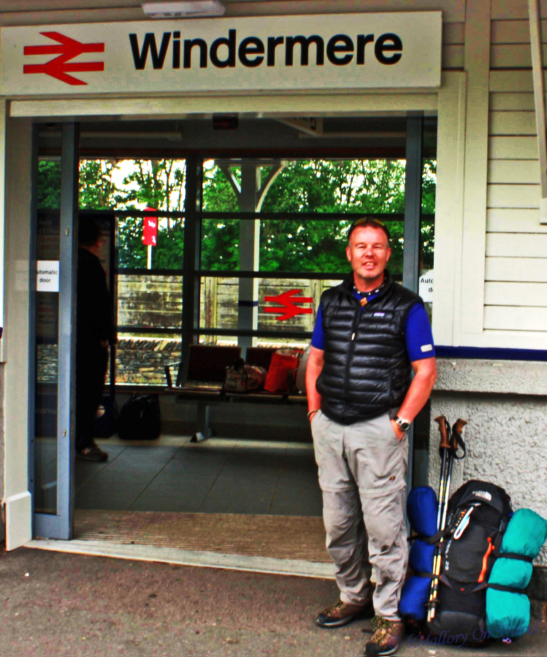 Adventures on the train in Windermere, the English Lake District on Mallory on Travel, adventure, adventure travel, photography