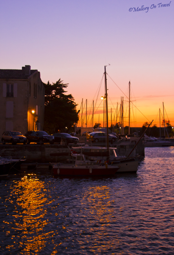 Island escapes; The harbour at St Martin on Île de Ré island on Mallory on Travel, adventure, adventure travel, photography