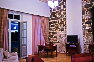 A spacious apartment in the Xenon Inn, in the Peloponnese city of Nafplio in Greece on Mallory on Travel, adventure, adventure travel, photography