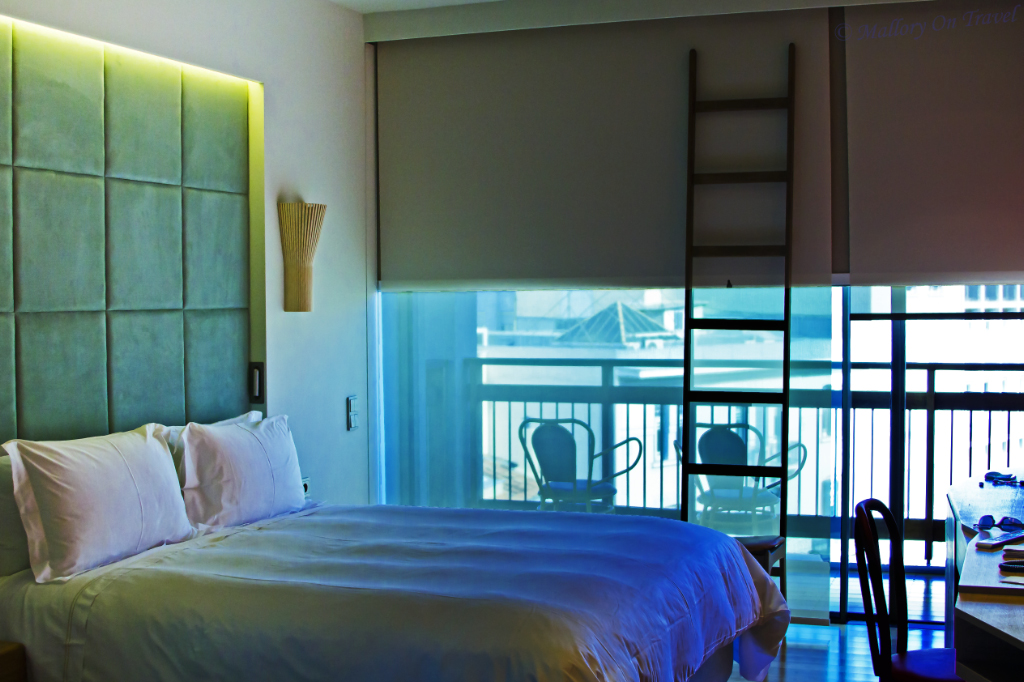 Boutique surroundings in the New Hotel in Athens capital city of Greece on Mallory on Travel, adventure, adventure travel, photography