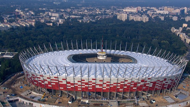 National Football Stadium, Warsaw, Poland itinerary on Mallory on Travel, adventure, adventure travel, photography