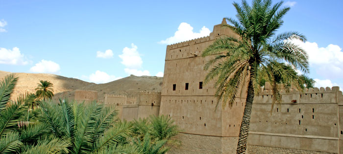 Fortifcations like Niswah throughout the Sultanate of Oman on Mallory on Travel, adventure, adventure travel, photography