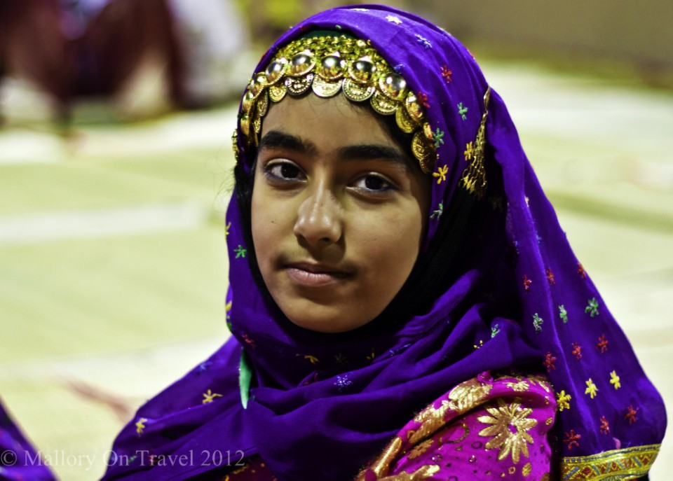 Muscat Festival girl performer in the Sultanate of Oman on Mallory on Travel, adventure, adventure travel, photography Iain-Mallory-300-12.jpg girl_nomad