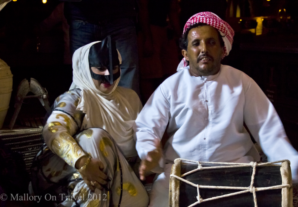Entertainment bedouin style in the Empty Quarter Desert at Wahiba Sands in the Sultanate of Oman  on Mallory on Travel, adventure, adventure travel, photography