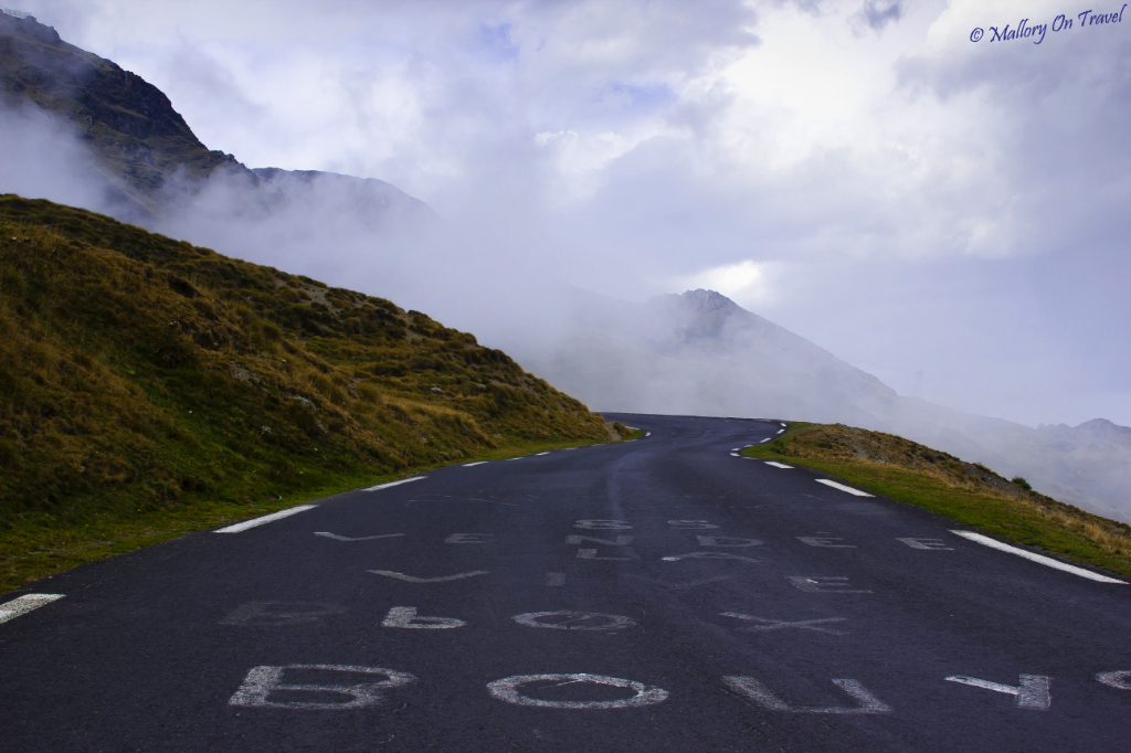 Tour de France road to the Col du Tourmalet, French Haute Pyrenees on Mallory on Travel, adventure, adventure travel, photography