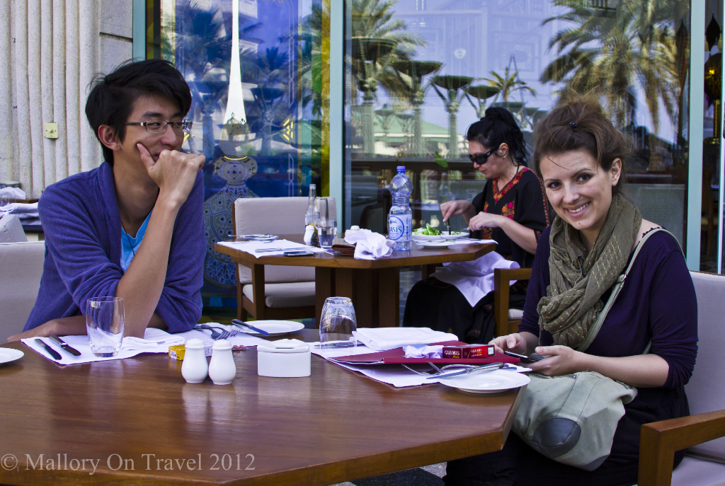 Coffee shop in Muscat, Oman on Mallory on Travel adventure, photography