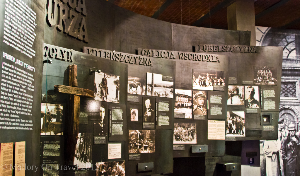 Life under the Nazis in The Warsaw Uprising Museum, Poland on Mallory on Travel adventure, photography