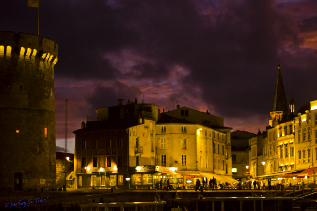 Harbour  in La Rochelle in the French Poitou-Charentes on Mallory on Travel adventure, photography
