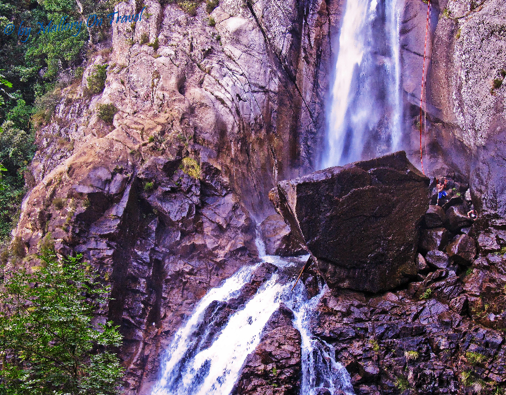 Corsica, Island of Beauty, France has plenty of falls along the GR20 on Mallory on Travel adventure photography