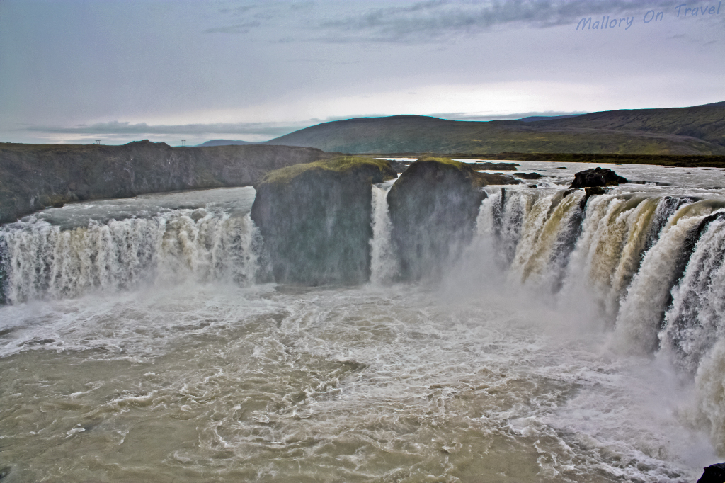 Gothafoss one of Iceland's most famous cascades on Mallory on Travel