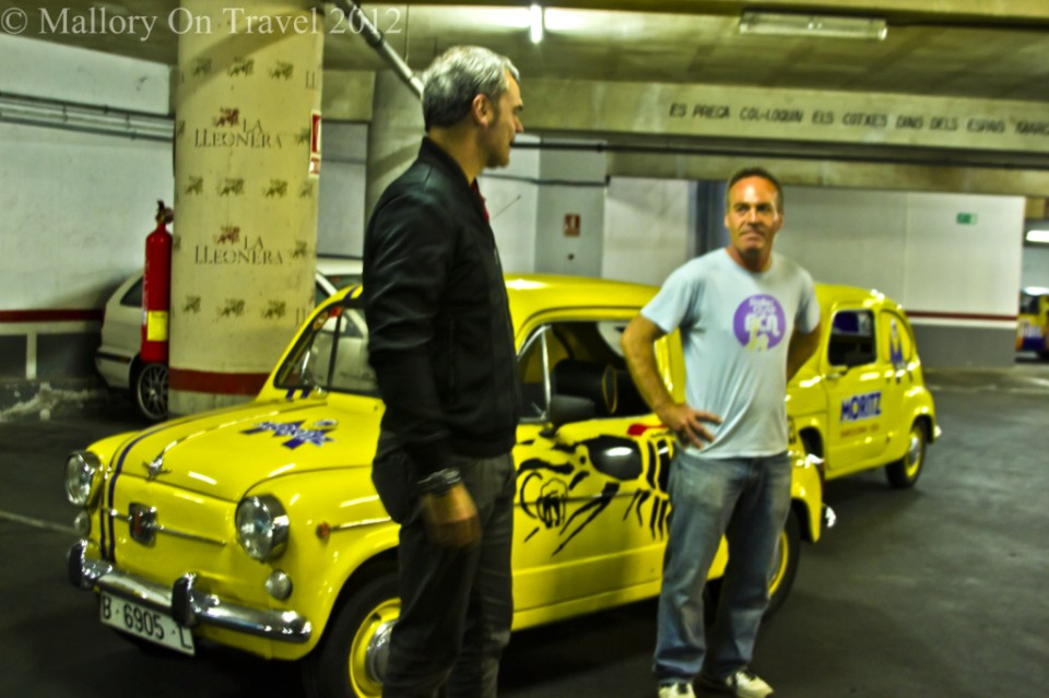 SEAT 600 tours of Barcelona, Spain on Mallory on Travel adventure photography