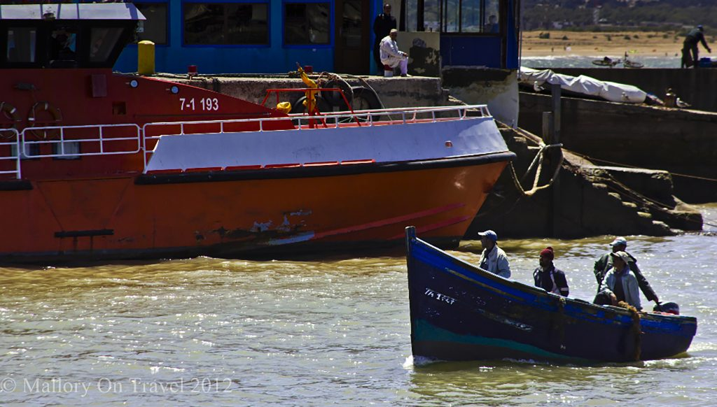 The last of the Essaouira fishing fleet returning from the Moroccan Atlantic on Mallory on Travel, adventure, adventure travel, photographyiain-mallory-300-8 essaouria